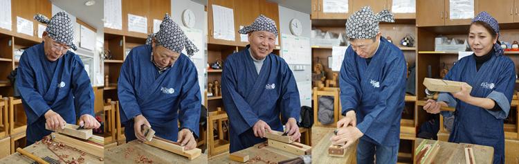 箸職人メンバー