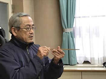 箸職人技術講習